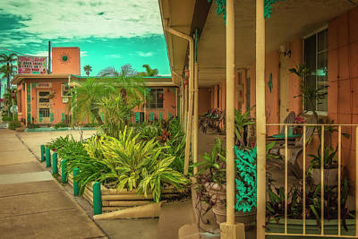 Photograph - Siesta Motel by Jerry Golab