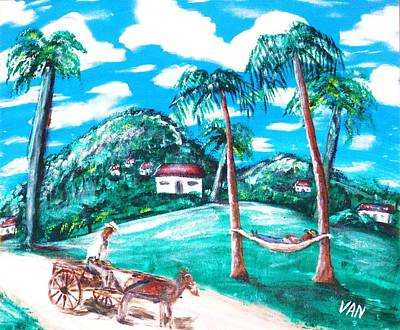 Siesta Art Print by Van Winslow