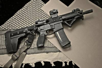 Sig 516 Art Print by Twain and Denise Wilkins