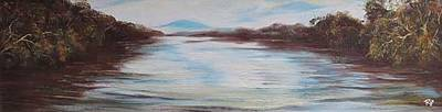 Painting - Sigatoka River Fiji by Ryn Shell