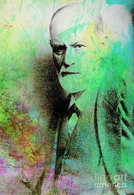 Freud Digital Art - Siggy Pop by John Malone