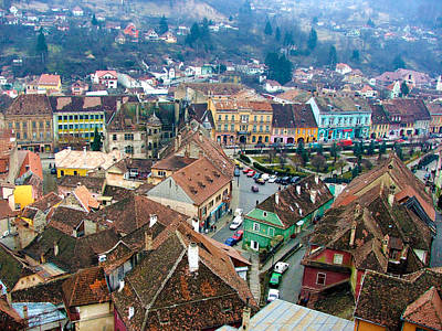 Photograph - Sighisoara - Dracula's Birthplace by Judi Saunders