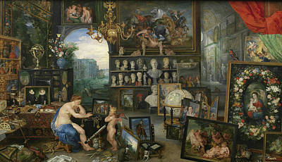 Allegory Painting - Sight by Peter Paul Rubens