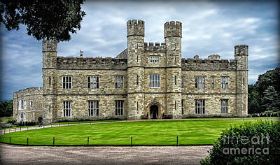 Photograph - Sights In England - Castle 4 by Walt Foegelle