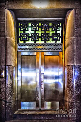 Photograph - Sights In New York City - Bright Door by Walt Foegelle