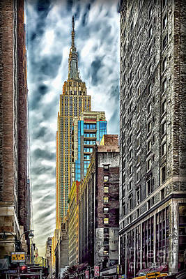 Art Print featuring the photograph Sights In New York City - Skyscrapers 10 by Walt Foegelle