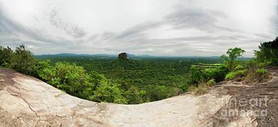 Photograph - Sigiriya Panorama by Venura Herath