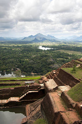 Lanka Photograph - Sigiriya Ruins by Jane Rix