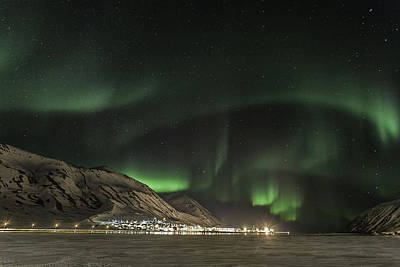 Photograph - Siglufjordur by Frodi Brinks