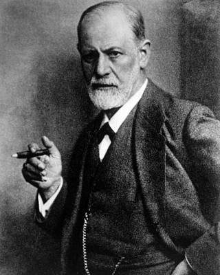 Freud Photograph - Sigmund Freud 1856-1939, Photograph by Everett