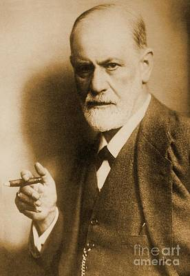 Psychiatry Mixed Media - Sigmund Freud Old Photo by Pd