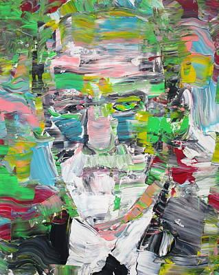 Sigmund Freud Painting - Sigmund Freud Portrait by Fabrizio Cassetta