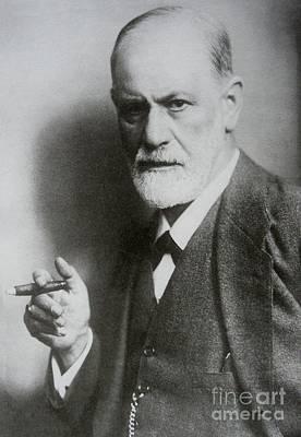Sigmund Freud Painting - Sigmund Freud Psych  by Pd
