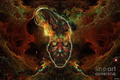 Mixed Media - Sigmund by ML Walker