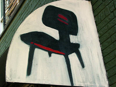 Photograph - Sign Of The Chair by Ross Odom