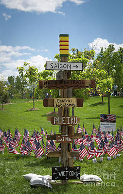 Photograph - Sign Post by Jon Burch Photography