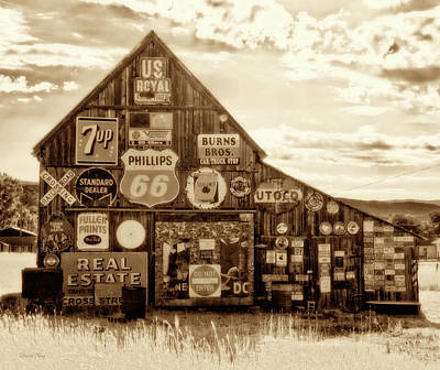 Photograph - Signage Barn Sepa by David King
