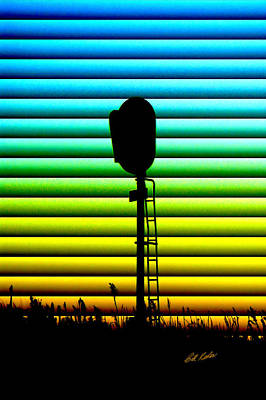 Photograph - Signal At Dusk by Bill Kesler