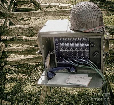 Signal Corps U.s. Army  Art Print by Steven Digman