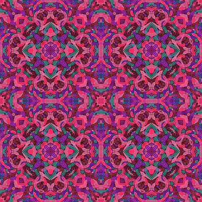 Digital Art - Signal Soup -multi-pattern- by Coded Images
