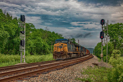 Wall Art - Photograph - Signals At Strathmore by Cliff Middlebrook