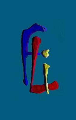 Byron Fli Walker Digital Art - Logo by Fli Art