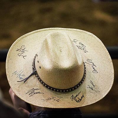 Photograph - Signature Hat by Jeff Kurtz