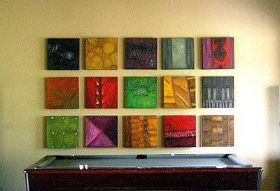 Mixed Media - Signature Set by Marlene Burns