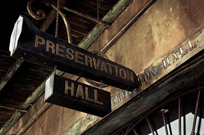 Preservation Photograph - Signboard On A Building, Preservation by Panoramic Images