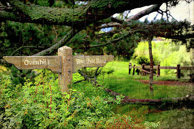 Photograph - Signpost In Hobbiton by Kathryn McBride
