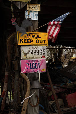 Photograph - Signs And More by Mike Eingle