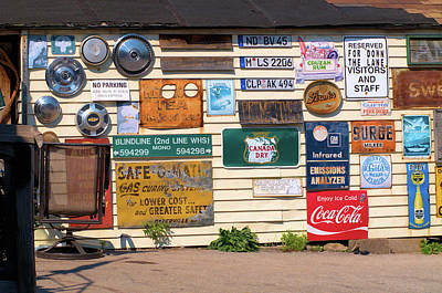 Photograph - Signs For Sale by Douglas Pike