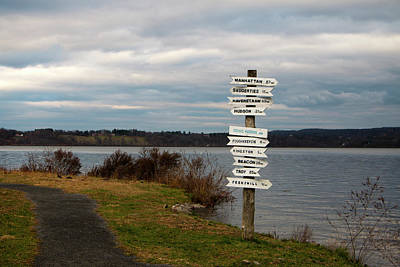 Photograph - Signs In December by Jeff Severson