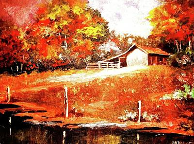 Painting - Signs Of Autumn by Al Brown