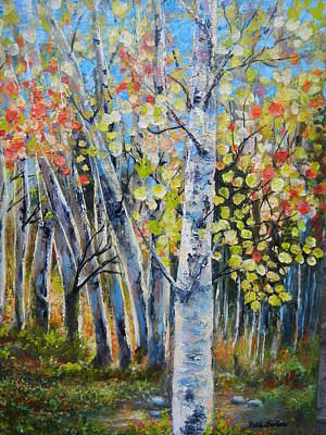 Painting - Signs Of Autumn by Patti Gordon