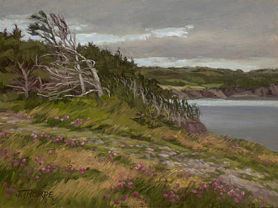 Stormy Weather Painting - Signs Of Clearing by Jane Thorpe