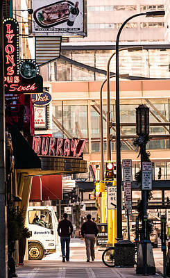 Photograph - Signs Of Minneapolis by Mike Evangelist