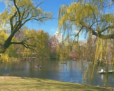 Signs Of Spring In Central Park 2 Art Print