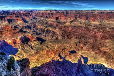 Photograph - Signs Of Wear Grand Canyon National Park Arizona Art  by Reid Callaway