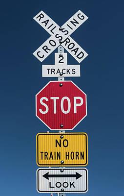 Signs Art Print by Steve Gadomski