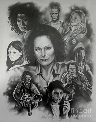 Sigourney Weaver Original by James Rodgers