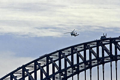 Photograph - Sikorsky And Sydney Harbour by Miroslava Jurcik