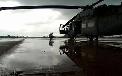 Transportation Digital Art - Sikorsky Hh-60 Pave Hawk by Super Lovely