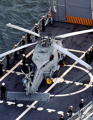 Photograph - Sikorsky Sh-60b Seahawk by Wernher Krutein