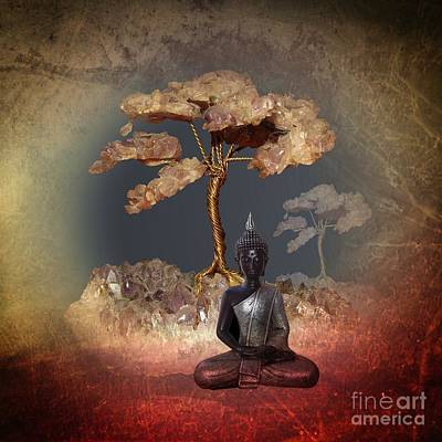 Digital Art - Silence -a- by Issabild -