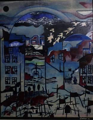 Painting - Silence by Adalardo Nunciato  Santiago
