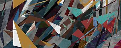 Silence And Chaos Panoramic Art Print