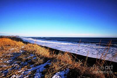 Photograph - Silence At Black Sand Beach by Benjamin Wiedmann