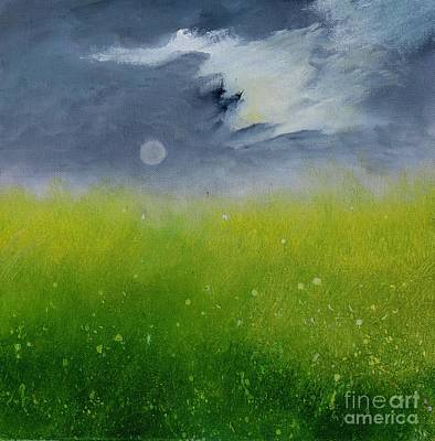 Painting - Silence Garden by Alicia Maury