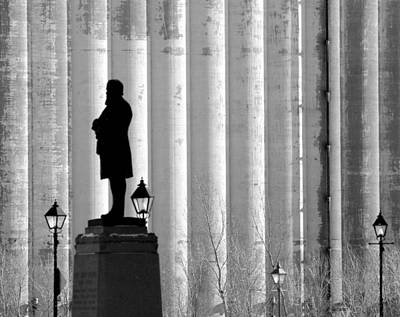 Old Montreal Photograph - Silence In Front Of The Silo's  by Russell Styles